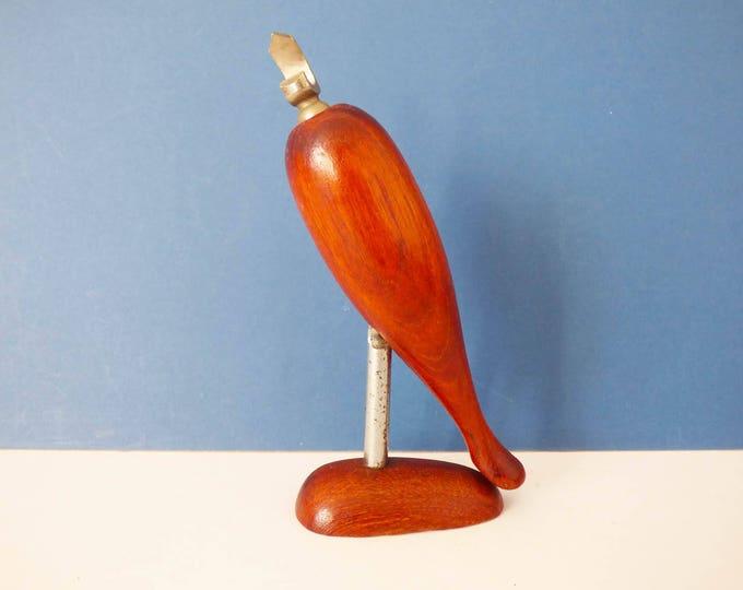 1970's  Bird Bottle opener and corkscrew