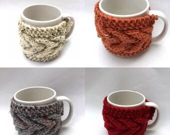 mug cozy knitted mug warmer set of 4