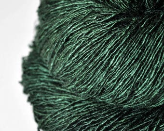 Lost in the coniferous forest - Tussah Silk Fingering Yarn - LSOH