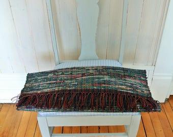 MATTA-Hand Woven Cotton/Cotton-Poly Rag Rug-Union #36 Loom, Scandinavian Style