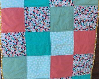 Handmade Cotton Baby Quilt