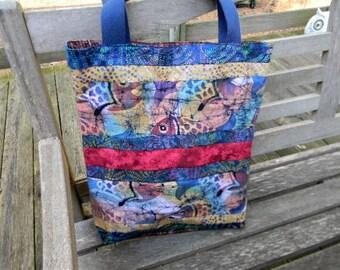 Fish Batik Market Bag
