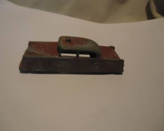 Vintage Red Metal Car Midge Toy, collectable