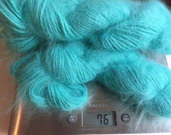 Angora Rabbit Yarn from England 25 grams hank - super soft!
