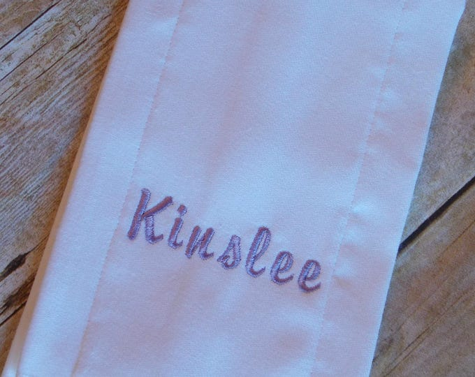 Embroidered Baby burp cloth, Infant personalized burp cloth, personalized burp cloth, burp rag, Baby burp cloth, Shower gift, girl, boy, New