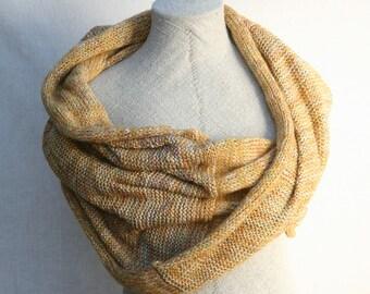 Bridesmaids shawl / Nursing mother wrap / Oversized shawl wrap / Large blanket scarf / Versatile shawl scarf / Bridal capelet Golden Sun