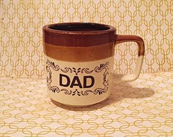 Vintage Dad Brown Coffee Mug