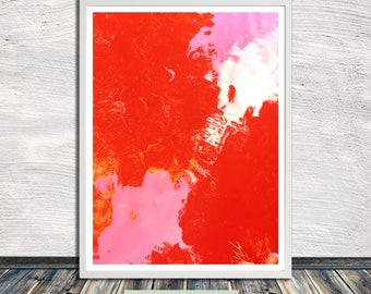 Candy water print II, pure colour abstract printable wall art, poster, printable art, Instant Digital Download