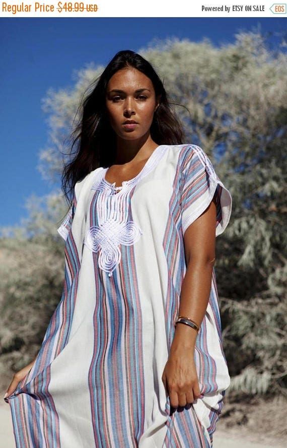 Kaftan Caftan Autumn Dress 25% OFF SALE/ White Autumn Dress-Resort Kaftan, abayas, beachwear, beach cover ups,resortwear, beach,winter dress