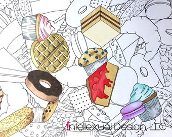 Printable Adult Coloring Page