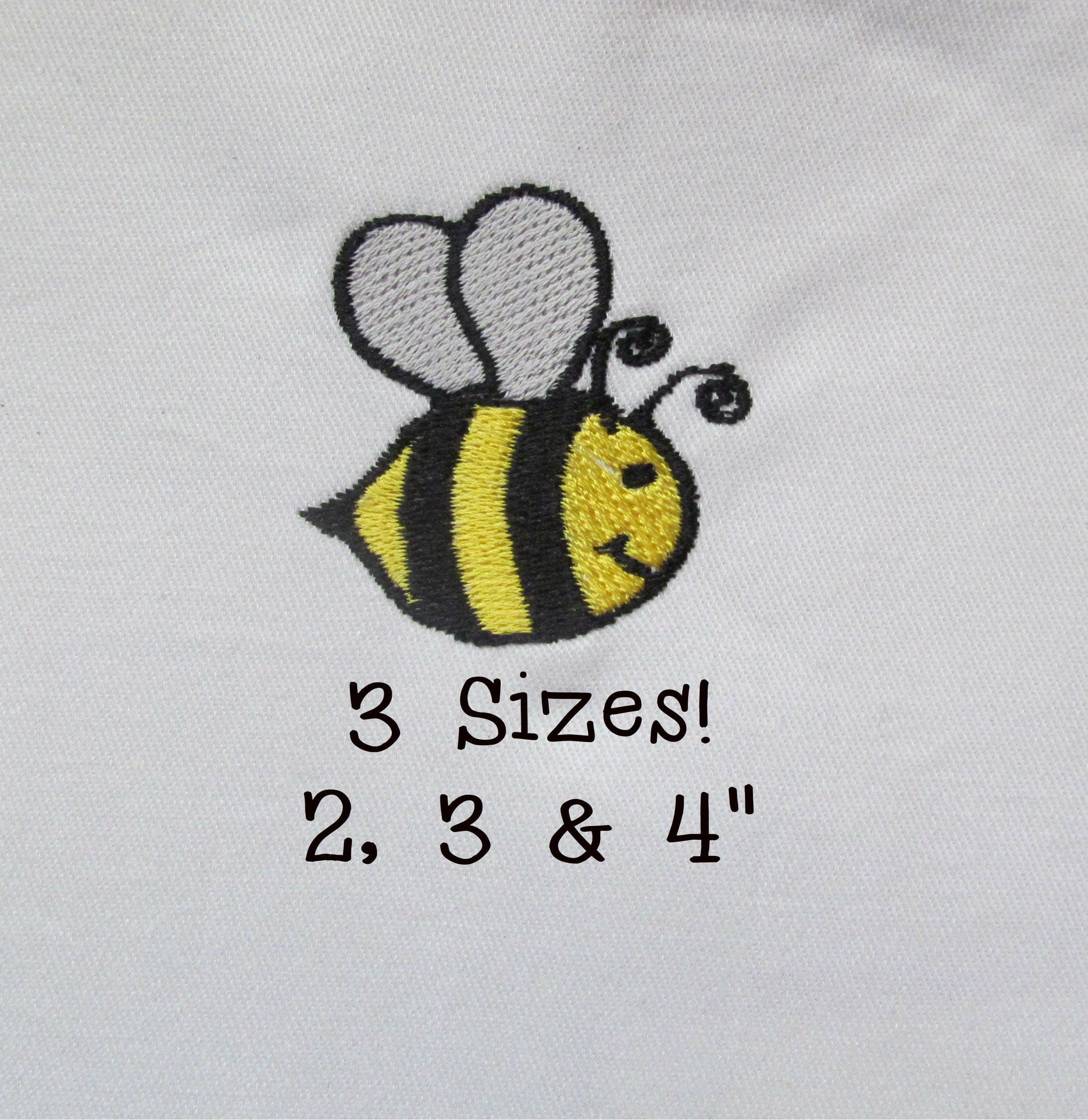 buy 1 get 1 free bumble bee embroidery design small bumble bee