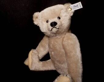Vintage 1983 Steiff Mohair Richard Steiff 80th Anniversary 1902 Bear Limited Edition