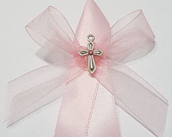 50 Girls Pink Greek Orthdox Martyrika - Baptism Witness Pins