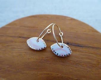 Eye Hoop Earrings