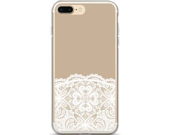 Vintage Lace iPhone 7 Case Feminine iPhone Case Antique Lace Doily Gift for Mom Gift for Sister Lace iPhone 8 Case Lace iPhone 6s Case