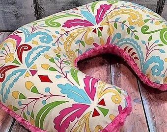 Nursing Pillow Cover-Bobby Cover-Baby Girl-Kumari Gardens-Baby Gift-New mom gift-READY TO SHIP
