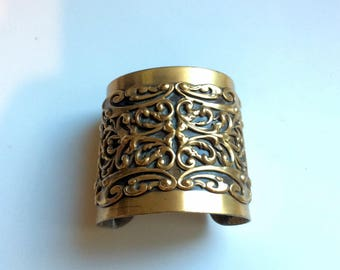 Joseff of Hollywood Adjustable Cuff Bracelet - 1950s Glamour