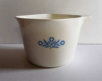 Vintage Corning Ware Sauce Maker Cornflower Blue Pattern 1 Quart P-55-B Measuring Cup Retro Kitchen Vintage Kitchen