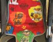 Toddler Waterproof Carseat Pad Kidz Wiz Padz - Paw Patrol Red