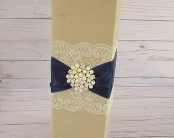 Sparklers Box, Sparklers Container, Wine Gift Box, Wedding Wands Box, Centerpiece Box, Flower Holder, Custom Made
