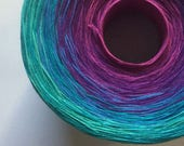W - Color Change Gradient Yarn - out of this world - Moca Cotton Yarn - 6 colors - 540 yards - worsted weight - cotton