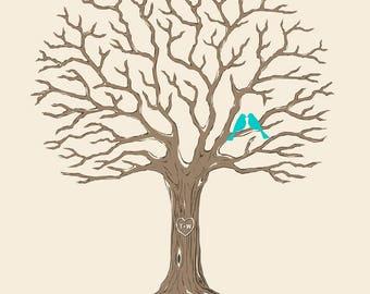 Custom wedding tree | Etsy