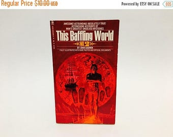 SUMMER BLOWOUT Vintage Non-Fiction Book This Baffling World no. 2 by John Godwin 1973 Paperback