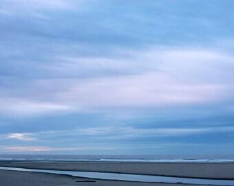 Oregon Blues - Fine Art Photograph, Ocean, Beach, Sea, Cannon Beach, Travel Photography, Wall Art, Room Decor