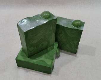 Handmade Soap - Imperial Green Apple Soap - Green Apple Soap  - Sea Salt Soap - Good Enough To Eat Collection *PRE-ORDER*