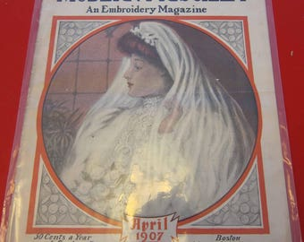 Magazine, Antique, Vintage, Fashions, Ads and Lots More: 1907, The Modern Priscilla