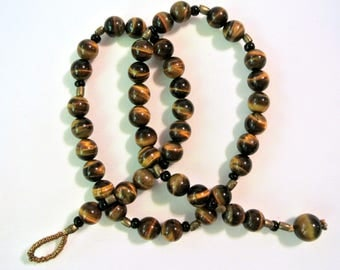 Handmade Tiger's Eye Necklace