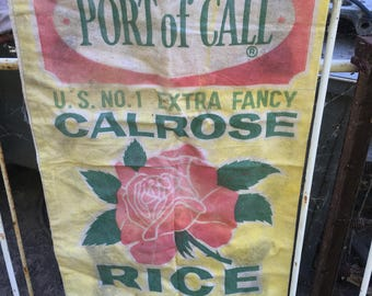 Port of call rice bag