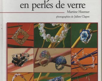 5 - Book jewelry creation in glass or Crystal beads