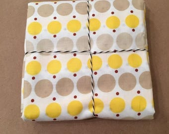 1 1/8 yards Katie Jump Rope Yellow Big Dot by Denyse Schmidt