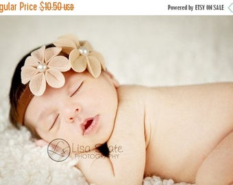 12% off Newborn headband, baby headbands, adult headband, adult clip, photography prop sprinkled- Kami- stretch headband