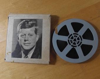 JFK news reel, Vintage JFK home news reel movie, Vintage JFK, Vintage 8mm movie