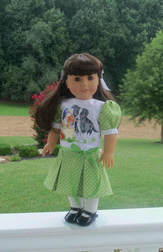 "SUPER SATURDAY SALE! Early 1900's Victorian Dress / Doll  Clothes for American Girl Samantha, Rebecca  or other 18"" Doll"