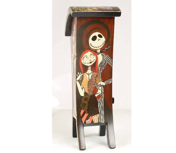 """David Irvine, The Gnarled Branch, Handcrafted by Paul Szewc, Handpainted by David Irvine, """"Jack & Sally"""", Top111"""