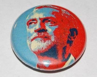 Jeremy Corbyn Hope Button Badge 25mm / 1 inch  Labour Party