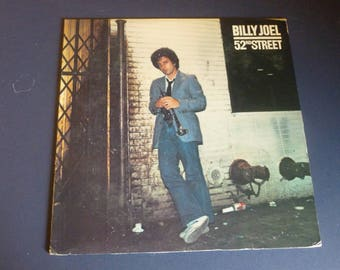 Billy Joel 52nd Street Vinyl Record LP FC 35609 Columbia Records 1978