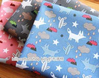 m315_55 - fox fabrics - cotton fabrics ( 3 color to choose) in Half Yard