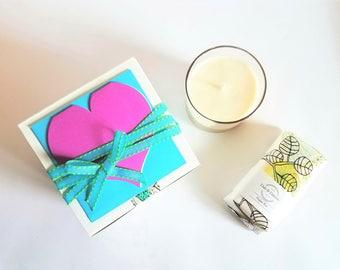 Bridesmaid Box   Bridesmaid Gift   Soy Candle   Soap   Bridesmaid Proposal Gift