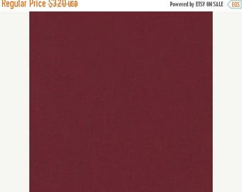 CIJ Crimson, Kona Cotton, Robert Kaufman Fabrics, 1/2 Yard