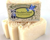 Coconut Cream Scented Handmade Hot Process Soap Batch #242