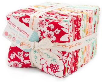 Hello Darling by Bonnie and Camille for Moda Fabric ~ Fat Quarter Bundle