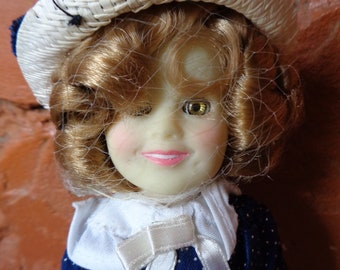"Shirley Temple, Ideal 8"" doll"