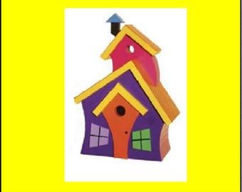 Wild Birdhouse #2