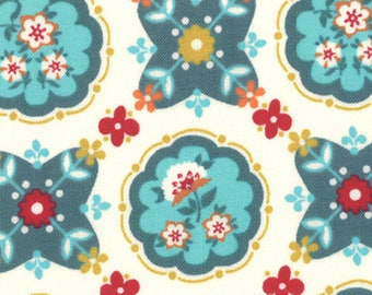 Domestic Bliss by Liz Scott for Moda Fabrics, 18072-17 Kitchenette Cream