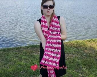 Duet Scarf Crochet Pattern