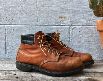 10 D Red Wing Boots 4439 6 Chukka Moc Toe Work Boots